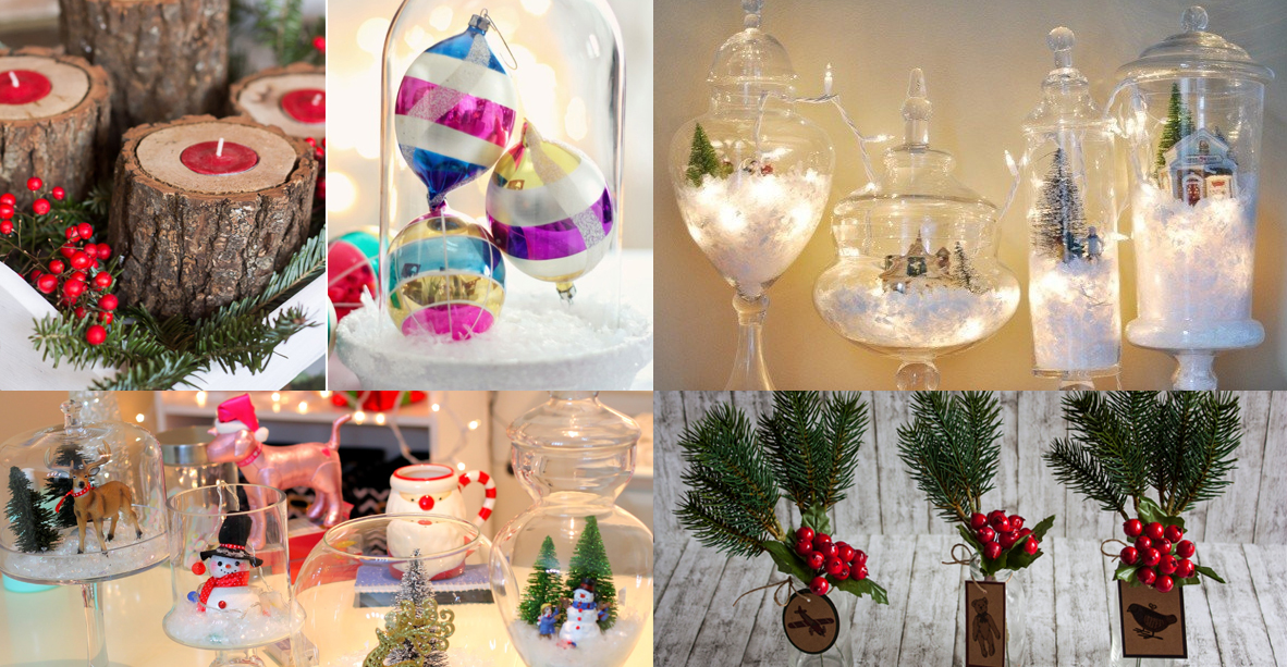 25 creativas ideas econ micas para decorar tu casa en navidad - Ideas decoracion casa ...