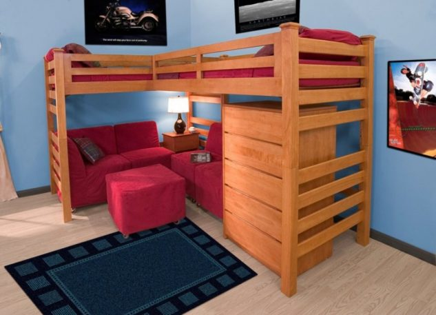 15 dormitorios modernos con literas para ni os - Literas modernas para jovenes ...
