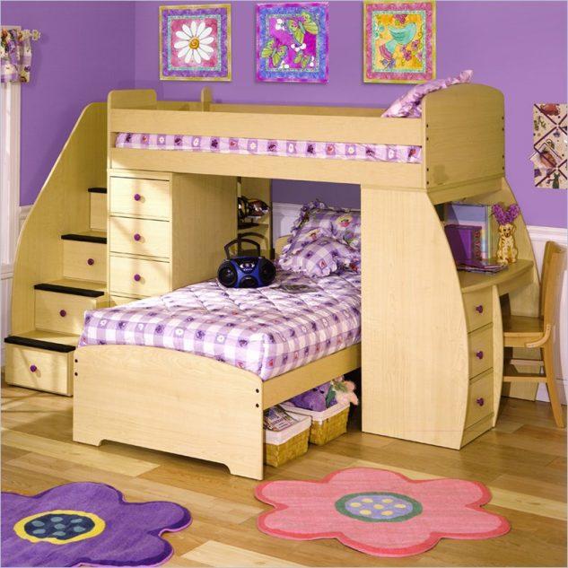 15 dormitorios modernos con literas para ni os - Dormitorios infantiles literas ...