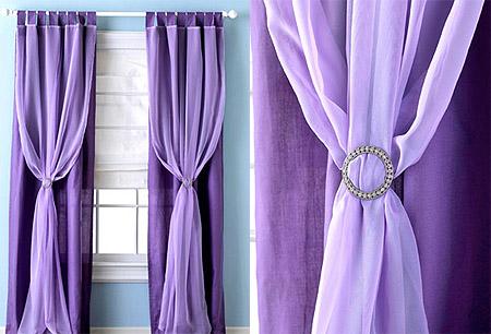 Fotos de cortinas de tela