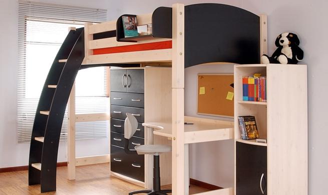 Mobiliario infantil para habitaciones pequeñas