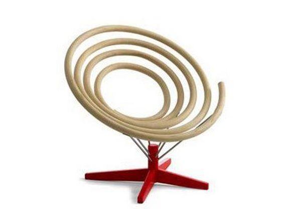 15+ ¡Los Muebles Espirales Locos que Soplarán su Mente!