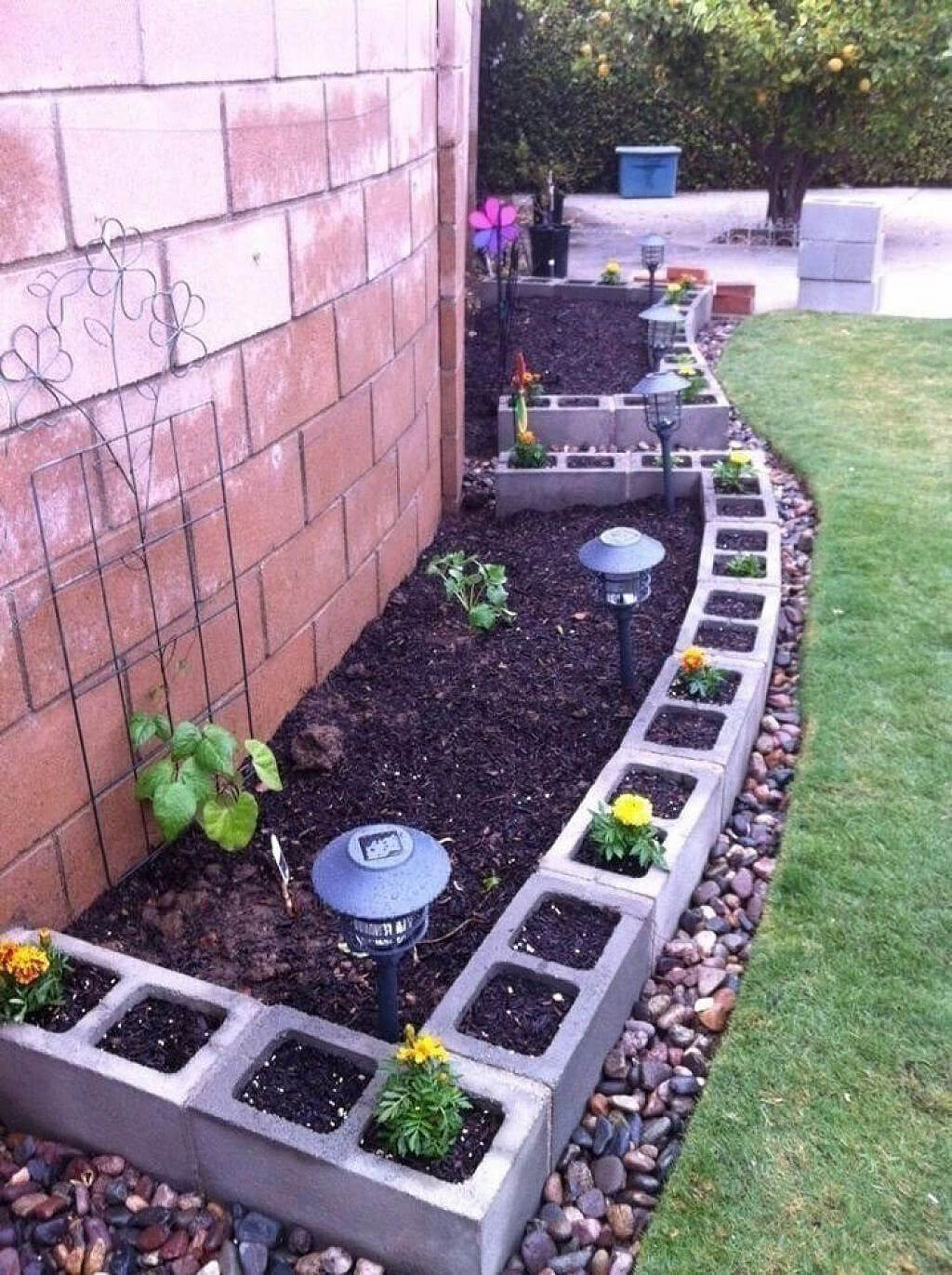 adornar tu casa con bloques de cemento 10
