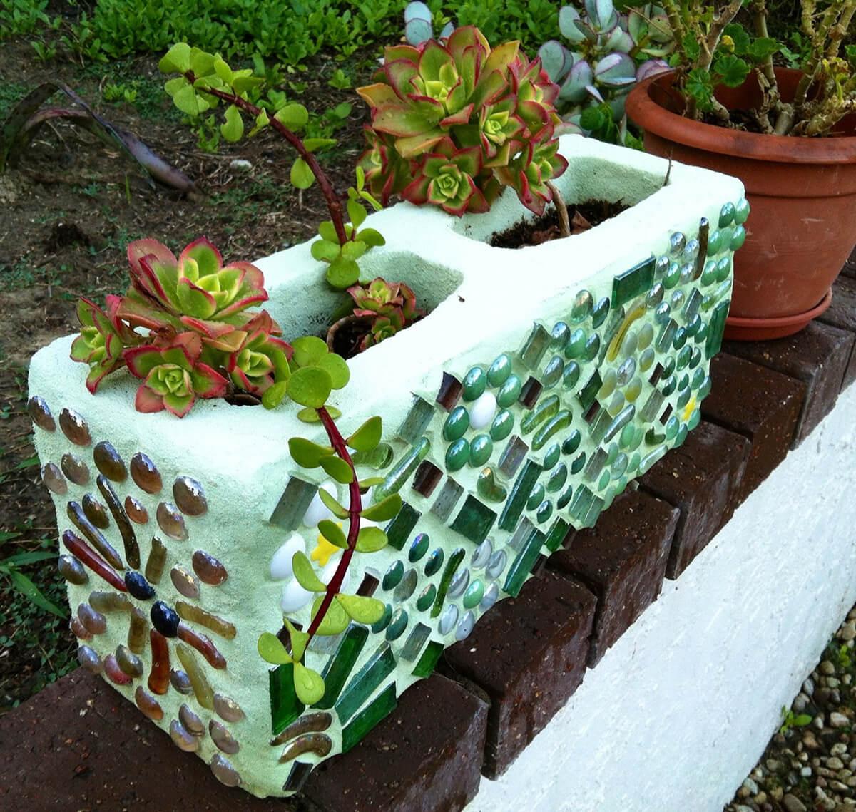 adornar tu casa con bloques de cemento 16