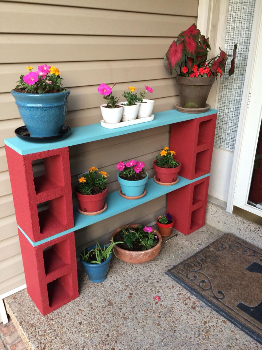 adornar tu casa con bloques de cemento 2