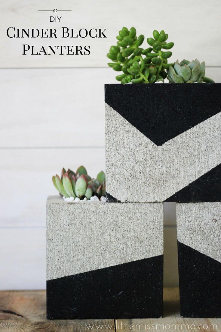 adornar tu casa con bloques de cemento 22