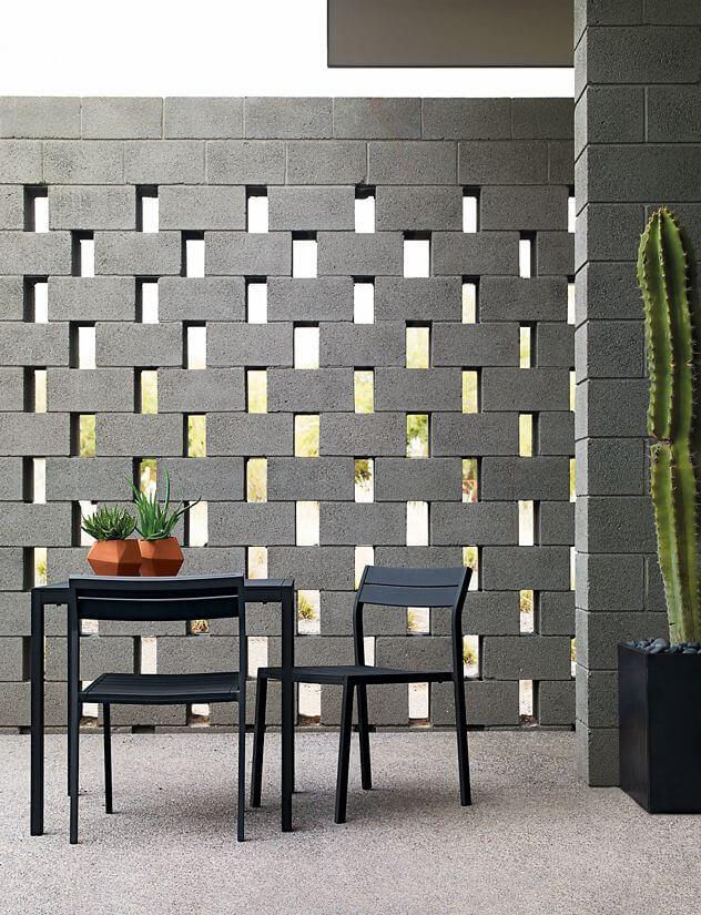 adornar tu casa con bloques de cemento 25