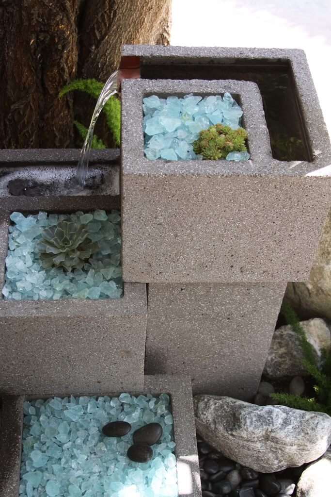 adornar tu casa con bloques de cemento 27