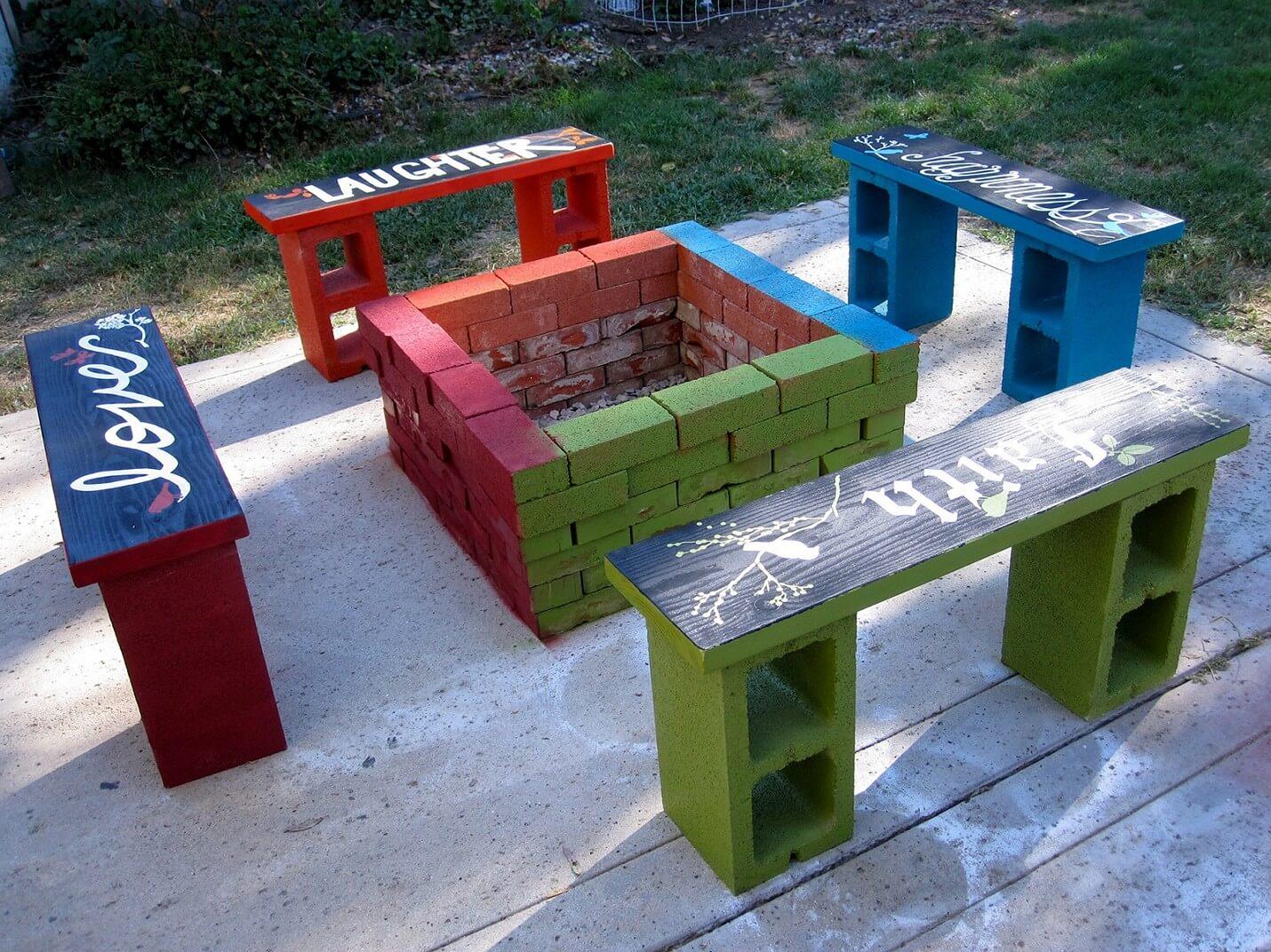 adornar tu casa con bloques de cemento 29
