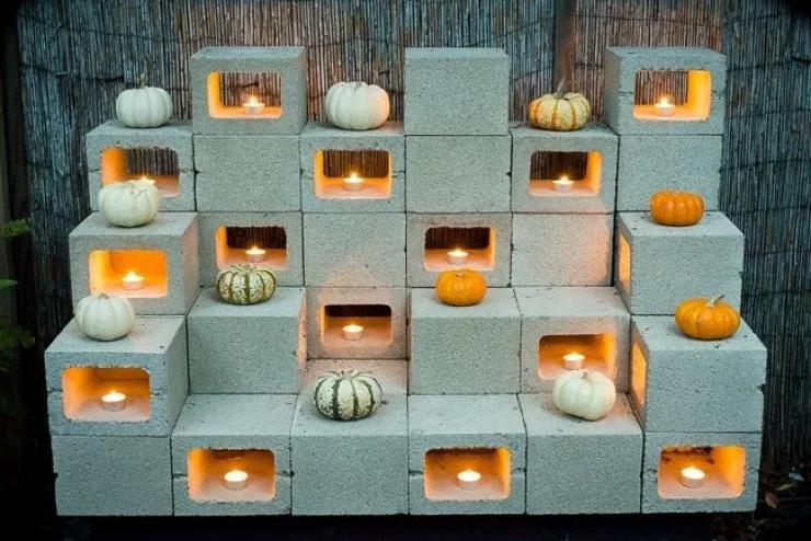 adornar tu casa con bloques de cemento 31