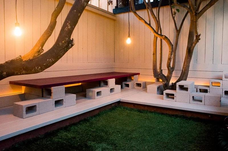 adornar tu casa con bloques de cemento 32
