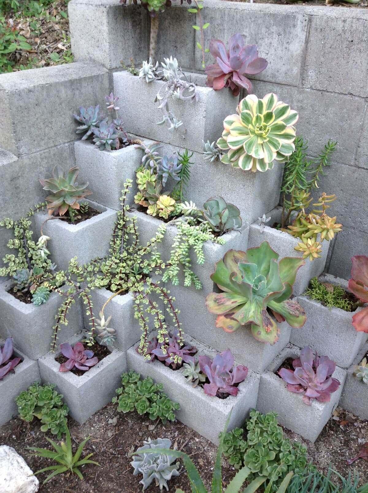 adornar tu casa con bloques de cemento 4