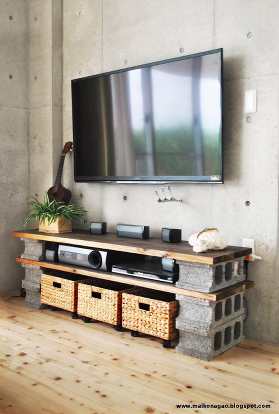 adornar tu casa con bloques de cemento 5