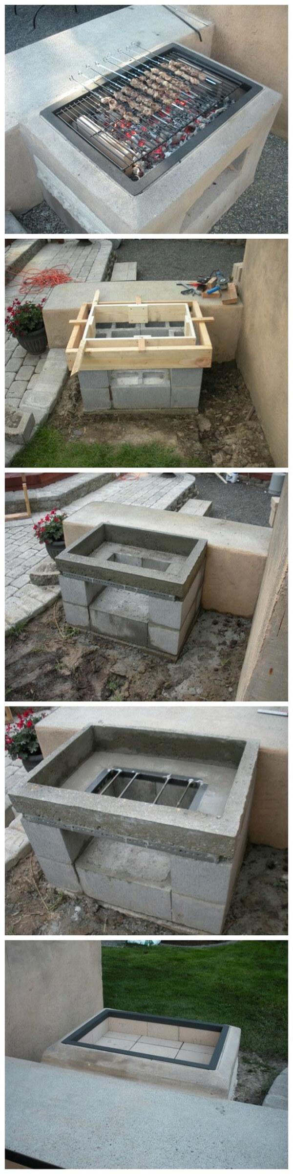 adornar tu casa con bloques de cemento 8