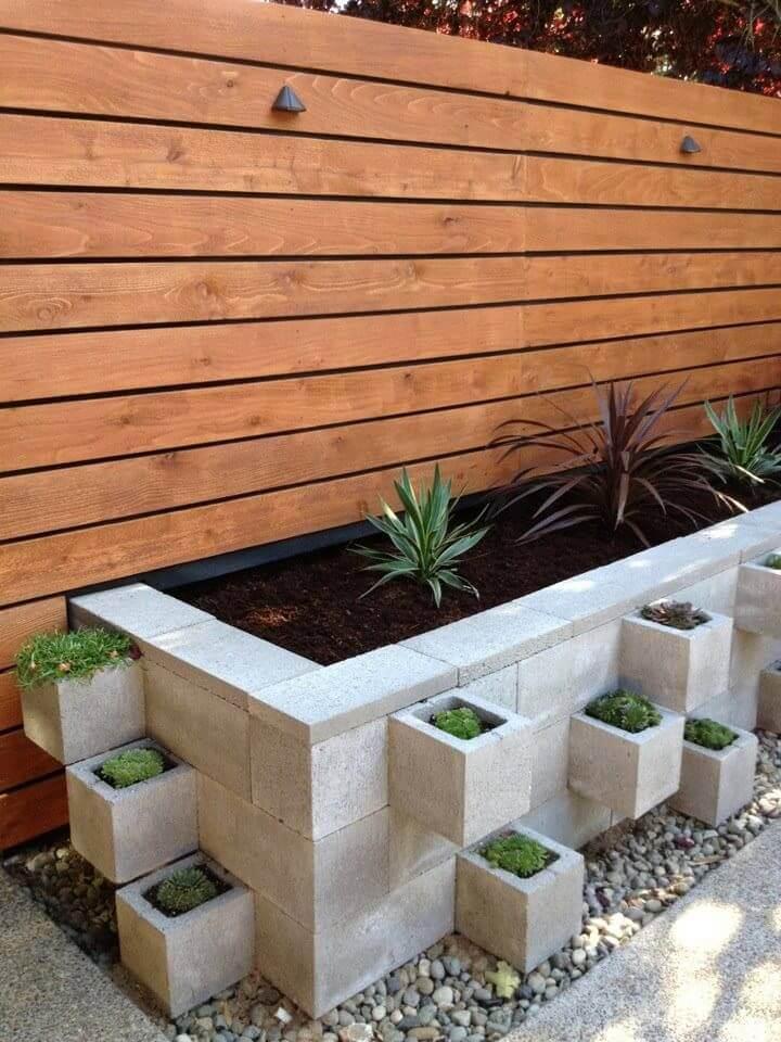 adornar tu casa con bloques de cemento 9