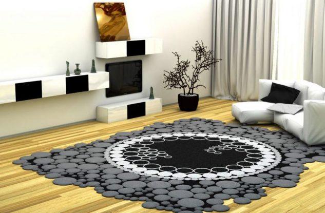 15 alfombras modernas dise os exclusivos for Imagenes alfombras modernas