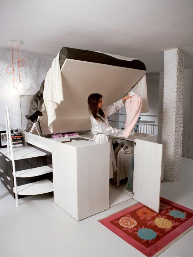 15 geniales ideas para aprovechar el espacio en for Ideas para aprovechar espacios pequenos