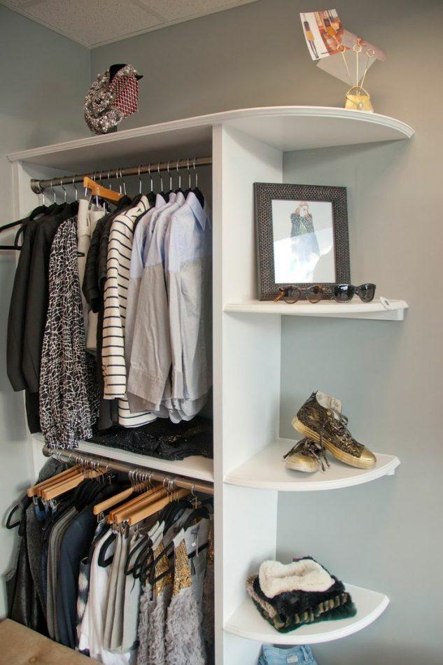 10 ideas brutales para decorar armario de esquina - Decorar esquinas ...