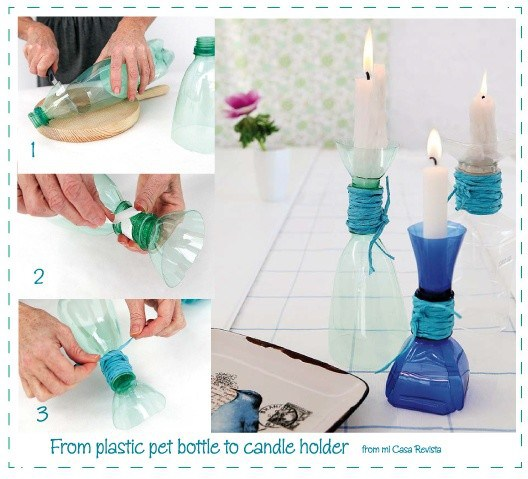 10+ Geniales Artesanias con Botellas de Plastico