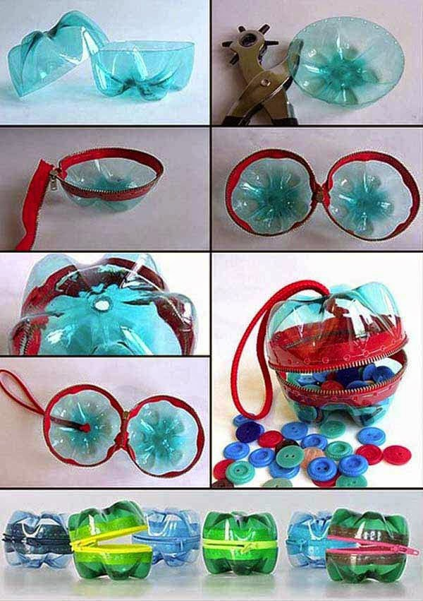 artesanias botellas plastico 4
