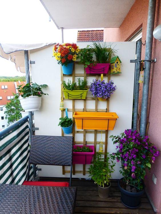 balcones decorados con plantadores 1