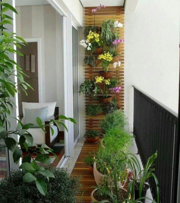 balcones decorados con plantadores 3