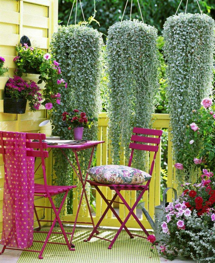 balcones decorados con plantadores 6
