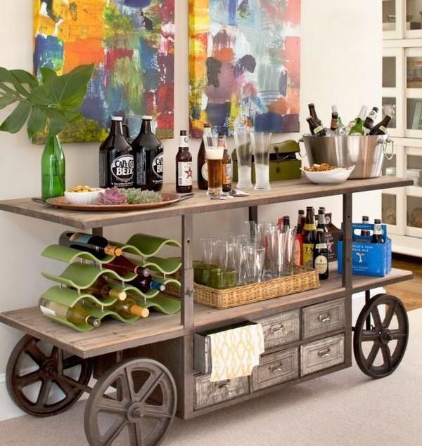 15+ Ideas Impresionantes sobre Diseños de Bares en Casa