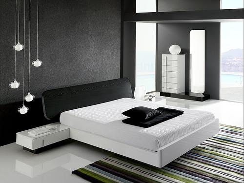 Dormitorio – Blanco y Negro