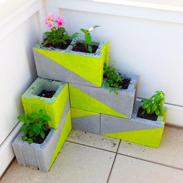 bloques de cemento para decorar tu hogar 11