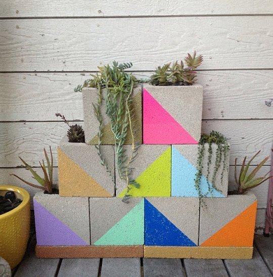 bloques de cemento para decorar tu hogar 12