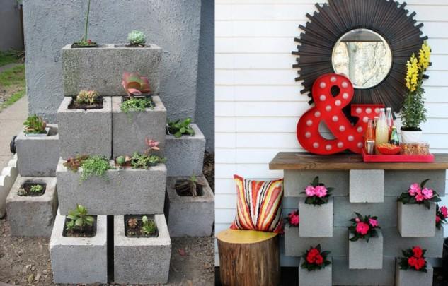 bloques de cemento para decorar tu hogar 13