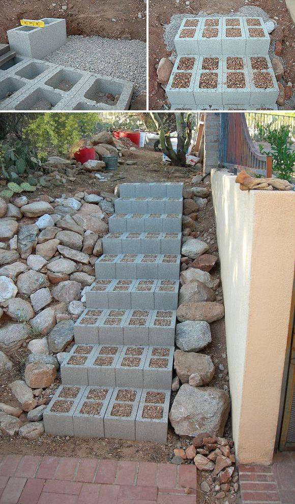 bloques de cemento para decorar tu hogar 19