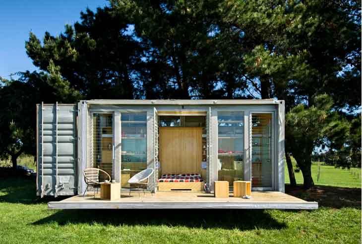 15+ Impresionantes Diseños de Casas Construidas con Contenedores