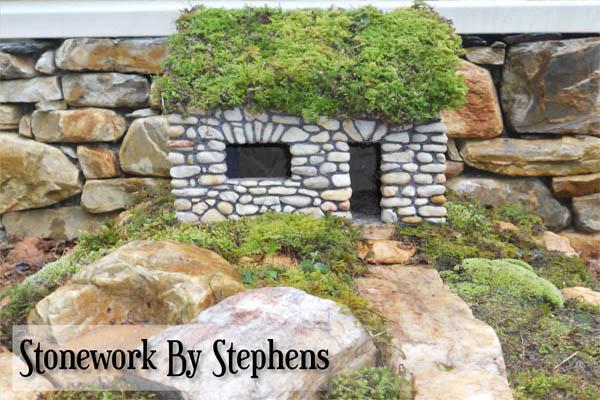 15+ Casas de Piedra en Miniatura para Hacer su Jardín Magnífico