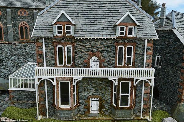 15 casas de piedra en miniatura para hacer su jard n magn fico - Casas en miniatura de madera ...