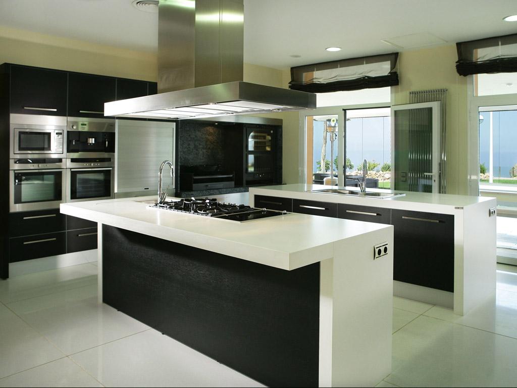 Cocinas modernas for Cocinas modernas negras