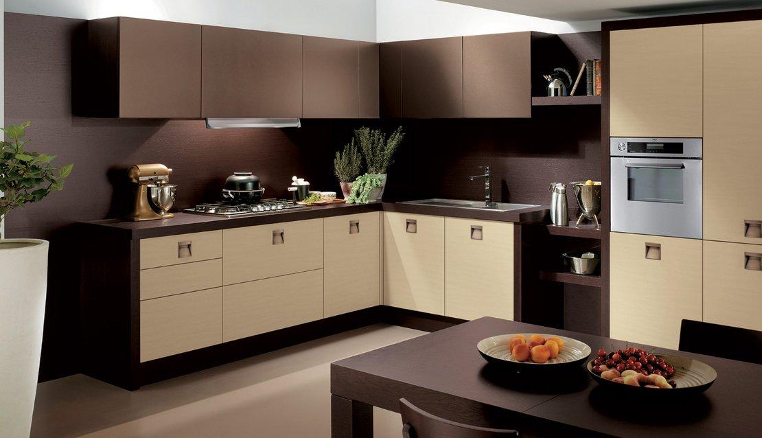 Cocinas modernas for Ejemplo de color de pintura de cocina