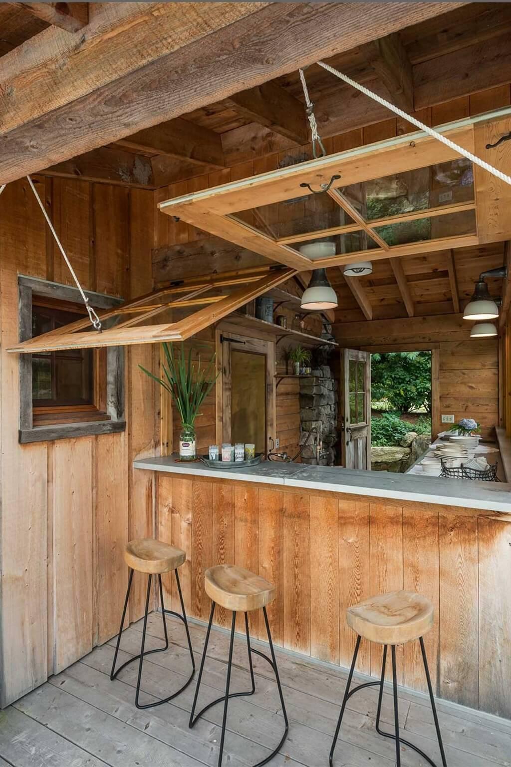 25+ Ideas Geniales para las Cocinas al Aire Libre