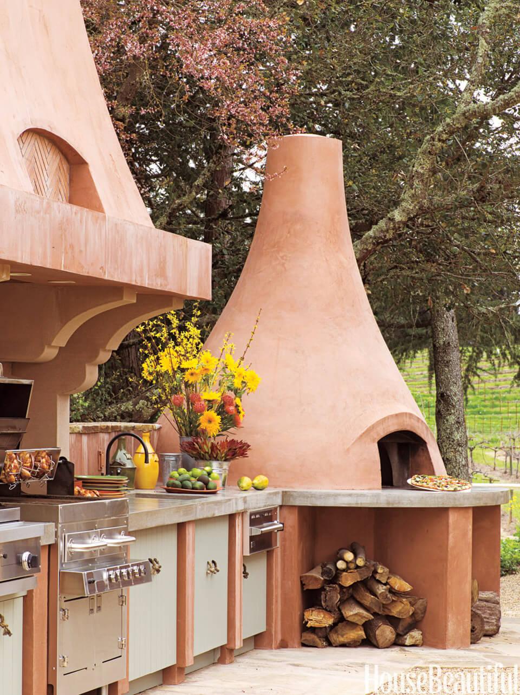 25 Ideas Geniales Para Las Cocinas Al Aire Libre
