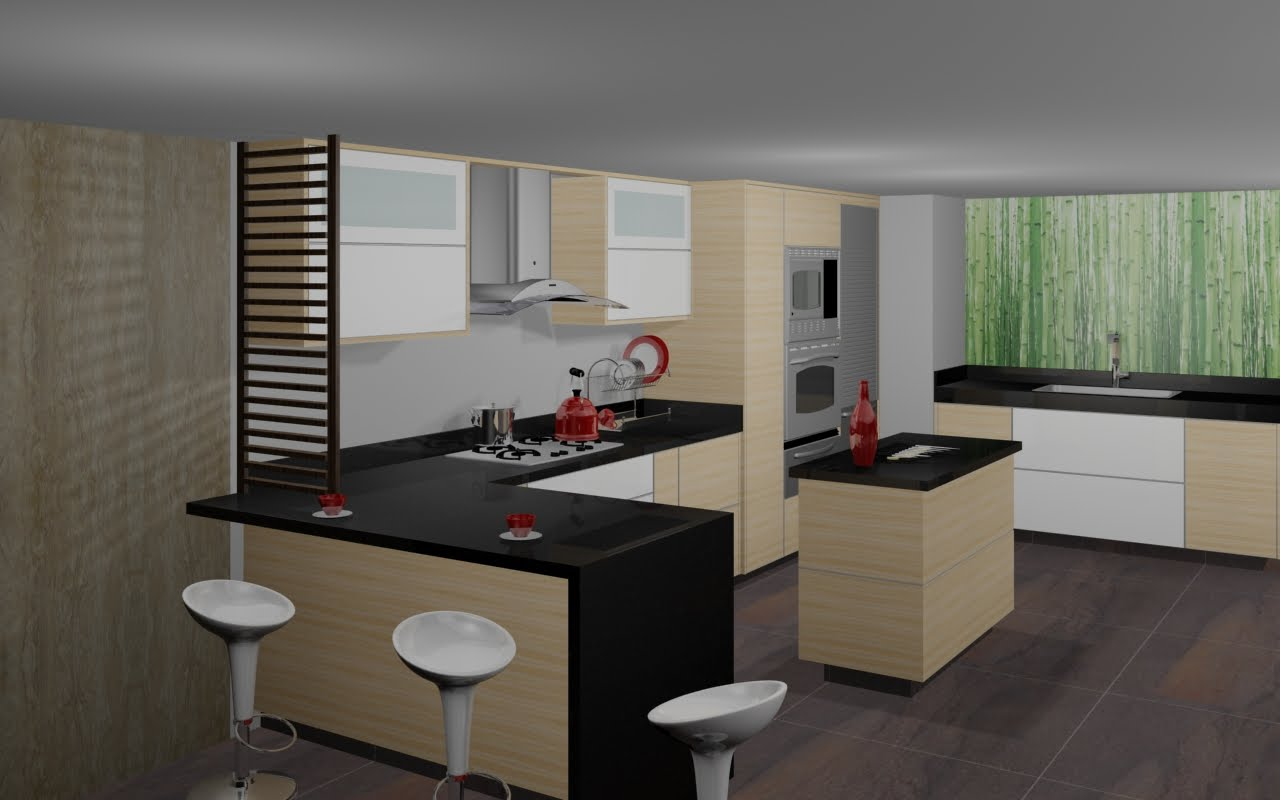 Cocinas modernas for Diseno de cocinas fotos