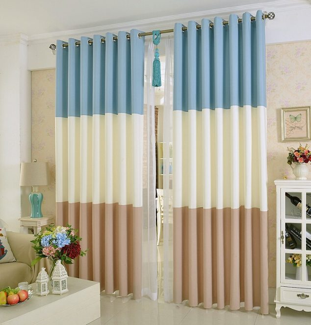 15 ideas y fotos de cortinas modernas para inspirarte for Ideas para cortinas de salon