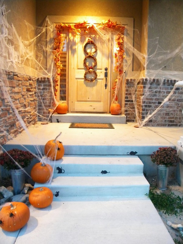 Halloween diy decor - 15 Decoraci 243 N Puertas Halloween Adornos E Ideas Para
