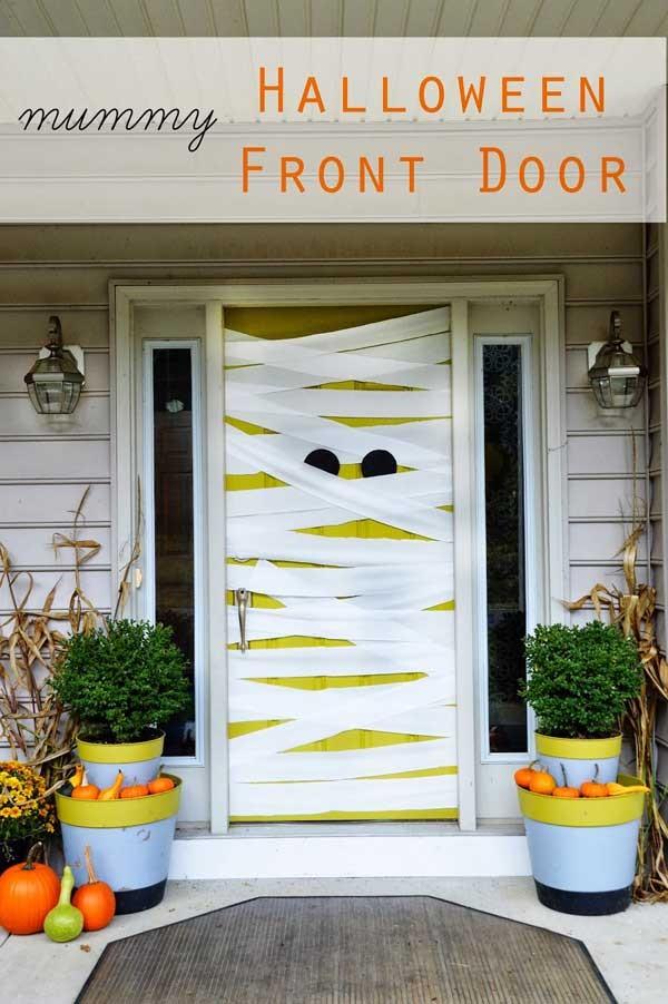 15+ Decoración Puertas Halloween   Adornos e Ideas para Decorar