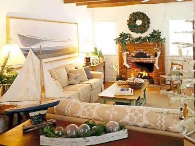 Decorar la casa para la Navidad