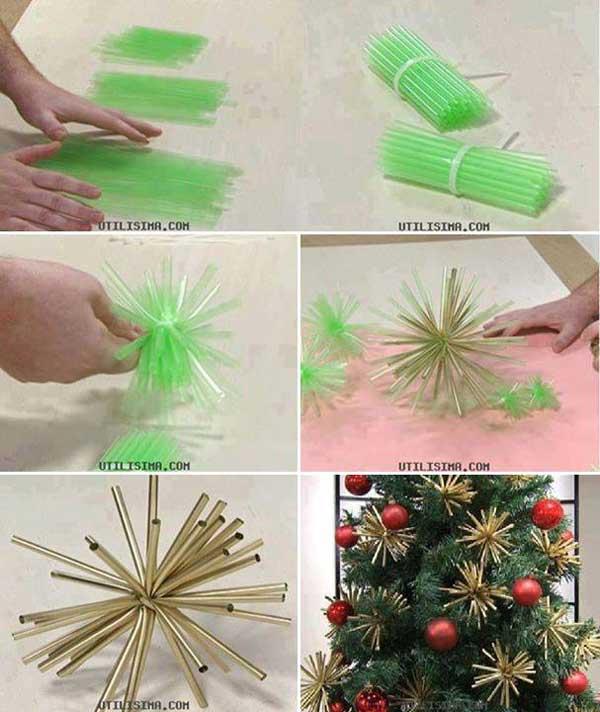 25+ Impressionantes Decoraciones Navideñas muy Fáciles y muy Baratas