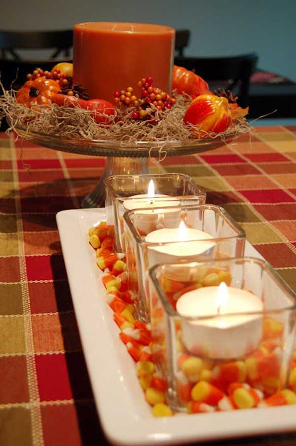 20 estupendas decoraciones de oto o para tu hogar Decoracion otono