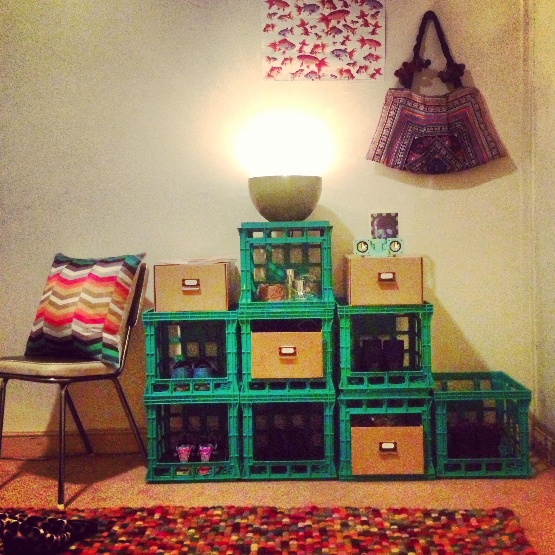 15+ Ideas Creativas para Decorar con Cajas Madera