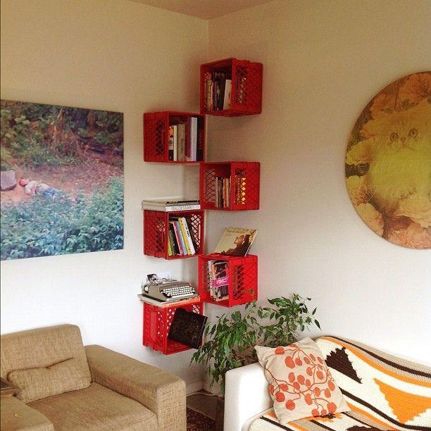 15 ideas creativas para decorar con cajas madera - Ideas creativas para decorar ...