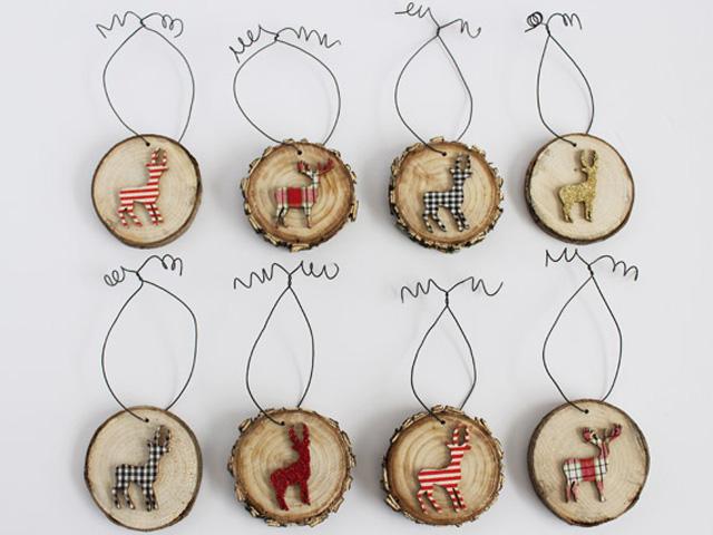 15+ Ideas Decorativas y Útiles para Hacer con Rodajas de Madera